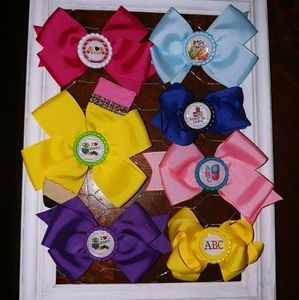 New Back to School Hair Bows (7)